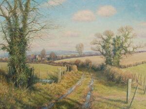 Oil on canvas by Mervyn Goode