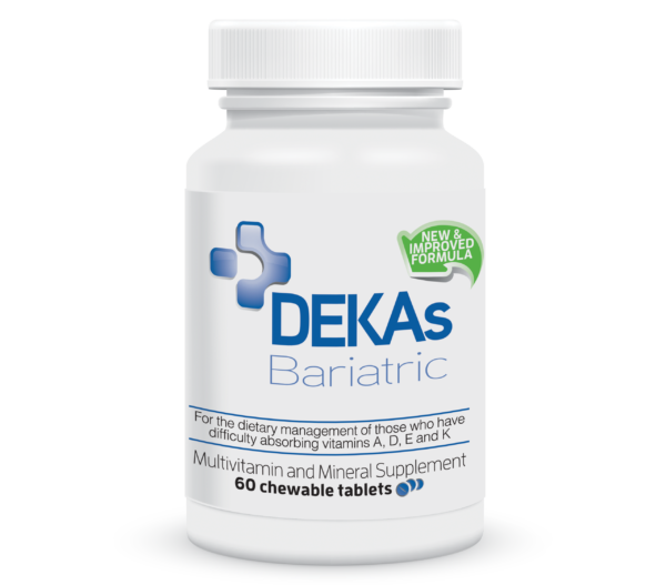 DEKAs Bariatric Chewable Tablet