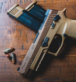 gray-and-black-semi-automatic-pistol