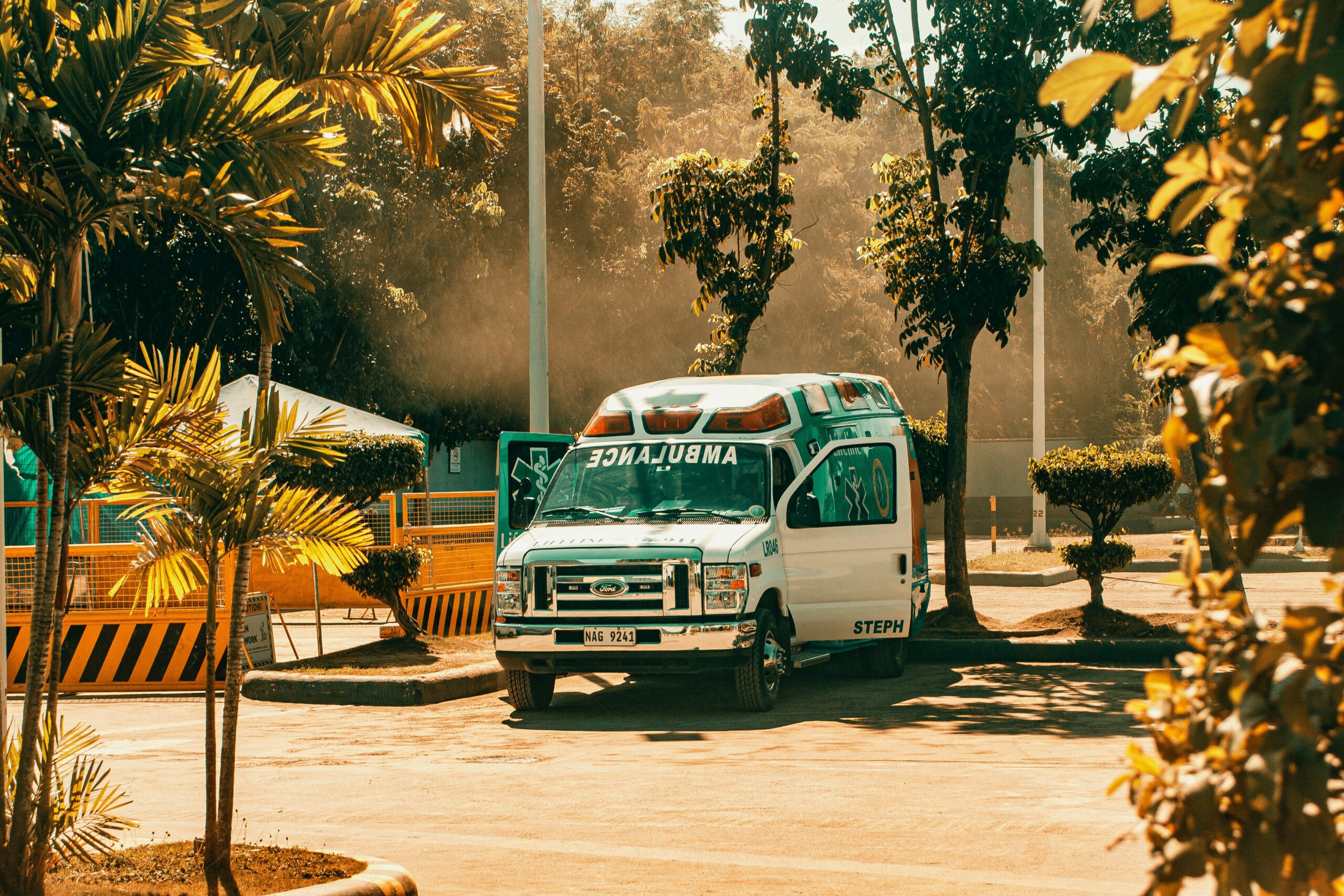 photo-of-ambulance-parked-in-parking-lot-3584101