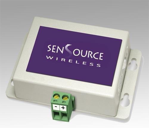 Analog input sensor for industrial applications | SenSource Wireless