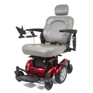 Mid-Wheel Drive Power Wheelchairs