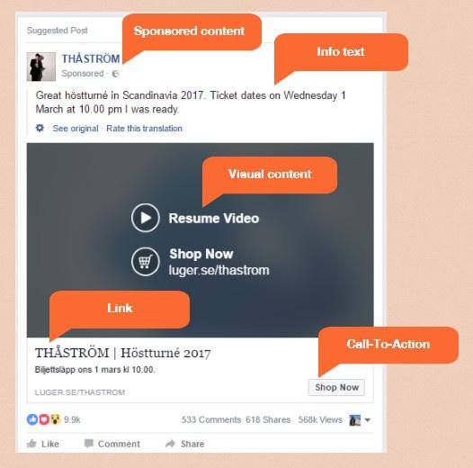 Thåström Facebook sponsored post