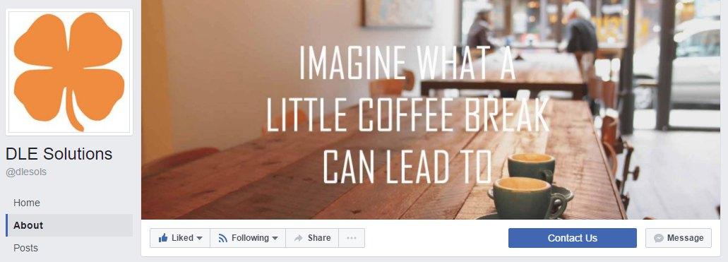 DLE Solution's Facebook CTA