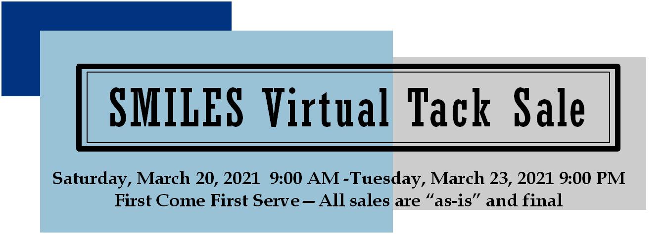 large Virtual Tack Sale Banner