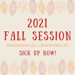 Fall Session Sign Up