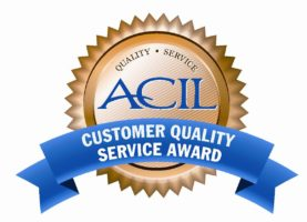 Customer Quality Service Award – American Council of Independent Laboratories