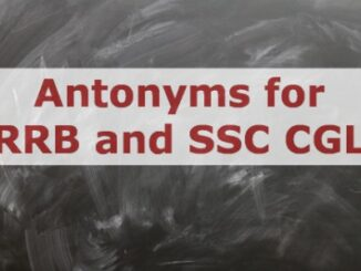 Antonym for SSC