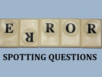 Error Spotting Questions for SSC CGL Set 3