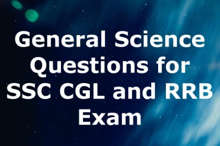 Science Questions for RRB and SSC Set 12