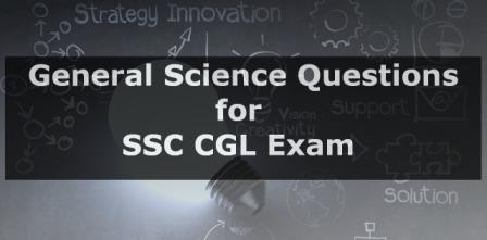 Science Quiz for SSC CGL
