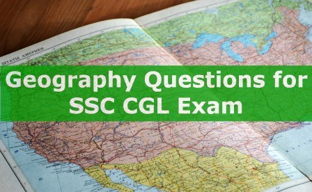 Geography for SSC CGL