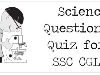Science Questions Quiz