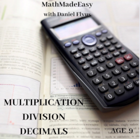 Multiplication, Division and Decimals lessons
