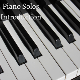 PIANO SOLOS INTRODUCTION