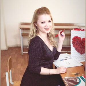 Elina Altynova, RUSSIAN AS A FOREIGN LANGUAGE  TEACHER