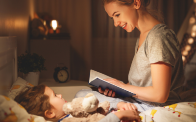 The Importance of a Bedtime Routine and How to Incorporate the Three B's: Bath, Books, Bed.