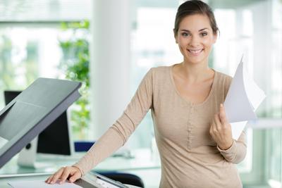 woman-at-copier