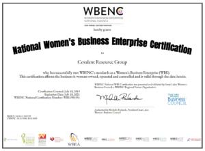 2020 WBENC Certificate
