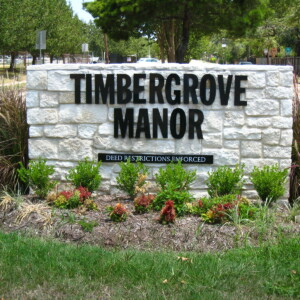 Timbergrove_Manor_sign