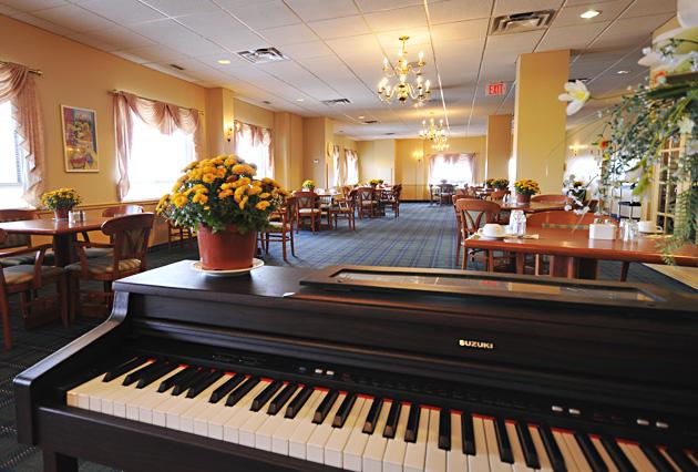 Seniors' residence Dining Room