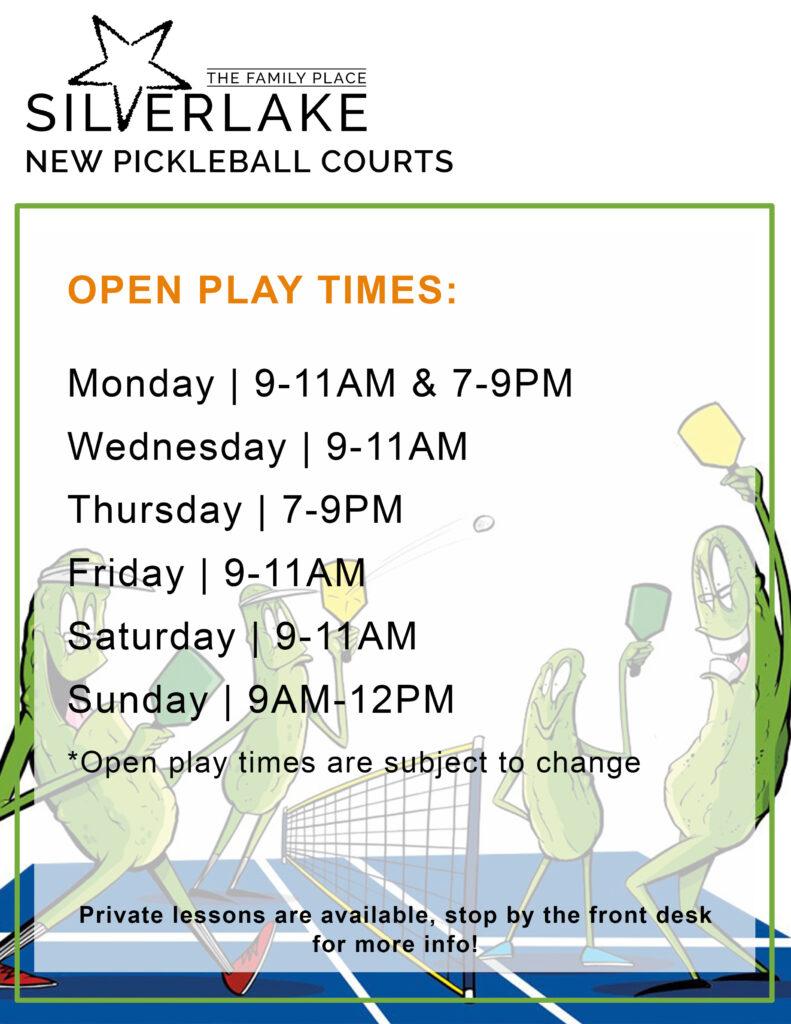 Fall Pickleball Open Play