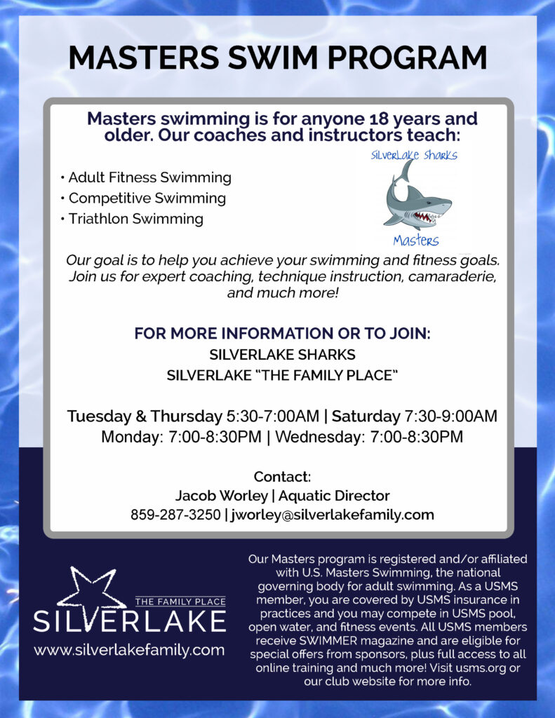 Masters Swim Program 2019 2020