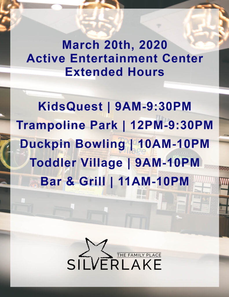 March 20th Extended Hours 2020