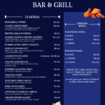 New Menu Front Page