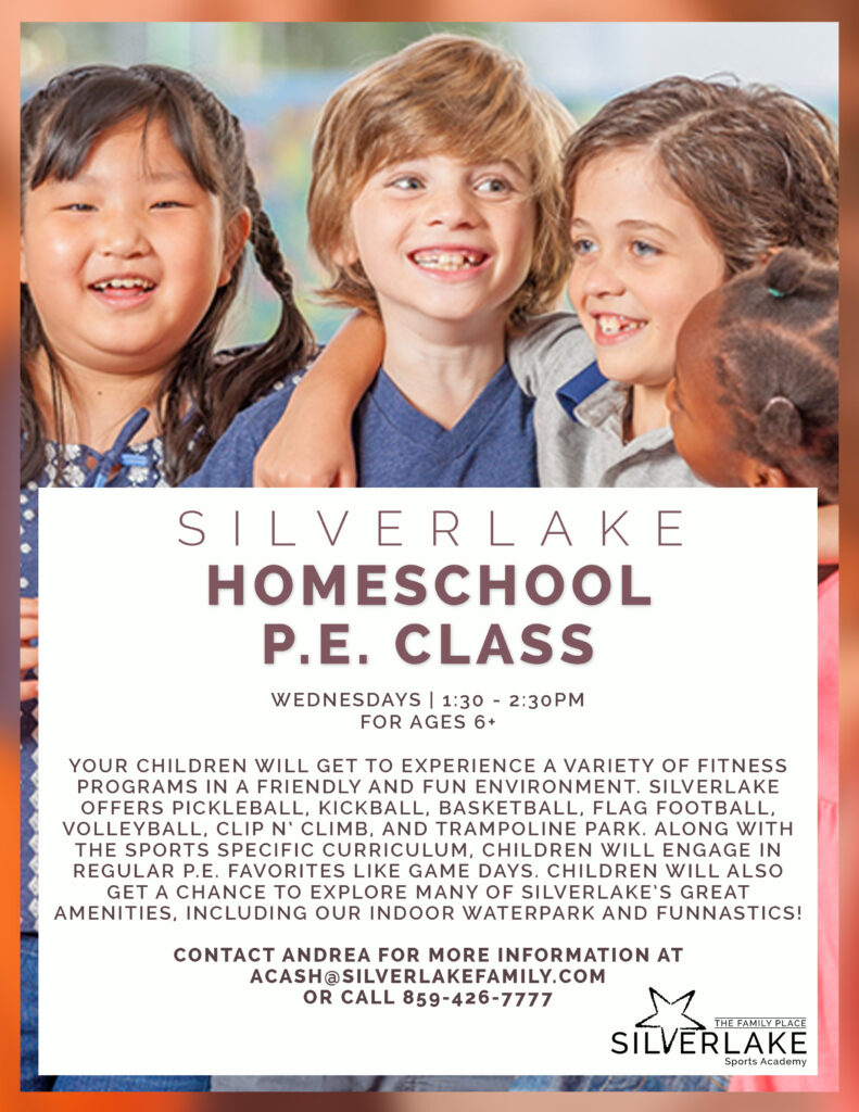 Homeschool Gym Flyer Front 2020