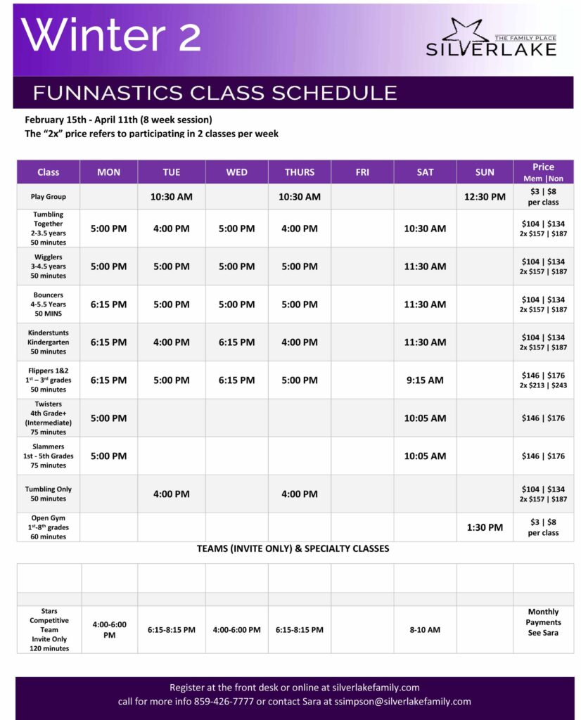 Microsoft Word - Winter 2 Funnastics Schedule.docx