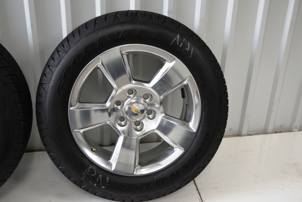 chevy 20 inch polish wheels