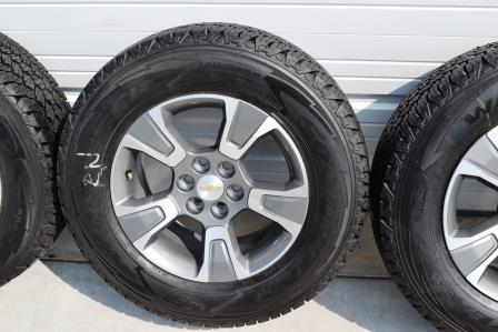 Chevy Colorado Wheels Tire Package Oem Factory 2015