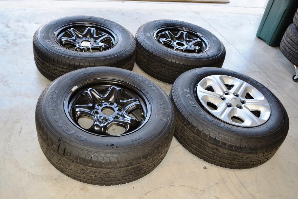 chevy traverse 17 inch oem wheels