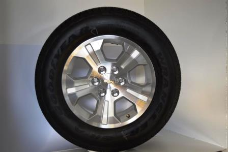 chevy 18 inch wheels with goodyear wrangler tires