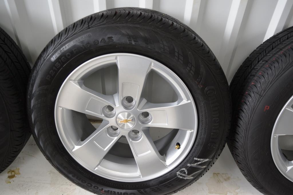 Genuine GM Chevy OEM factory wheels and tires dealer take off