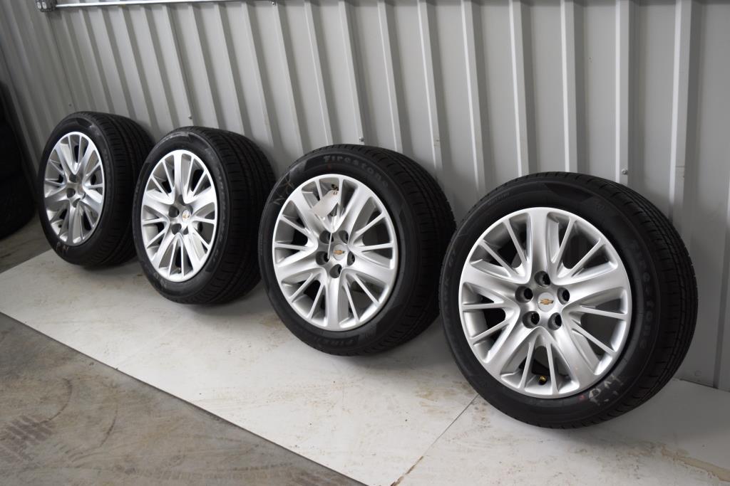 chevy malibu oem 18 inch wheels tires