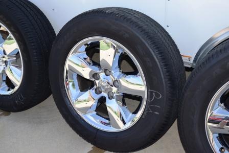 Dodge Ram 1500 20 inch chrome wheels
