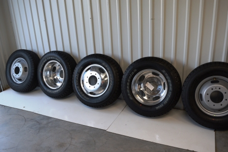 Chevy 3500 Wheels OEM Factory Dually Rims