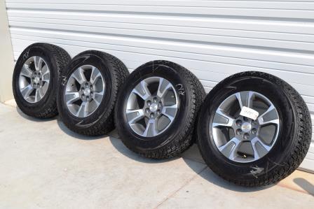 17 inch chevy colorado wheels