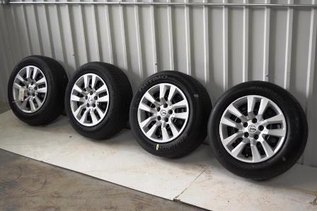 Nissan Altima 16 Inch Oem Wheels Tires Package