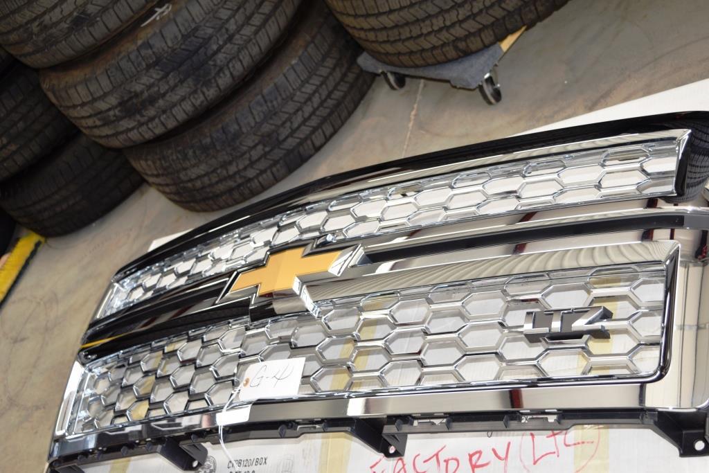 Genuine GM LTZ Chrome Chevy Front Grill