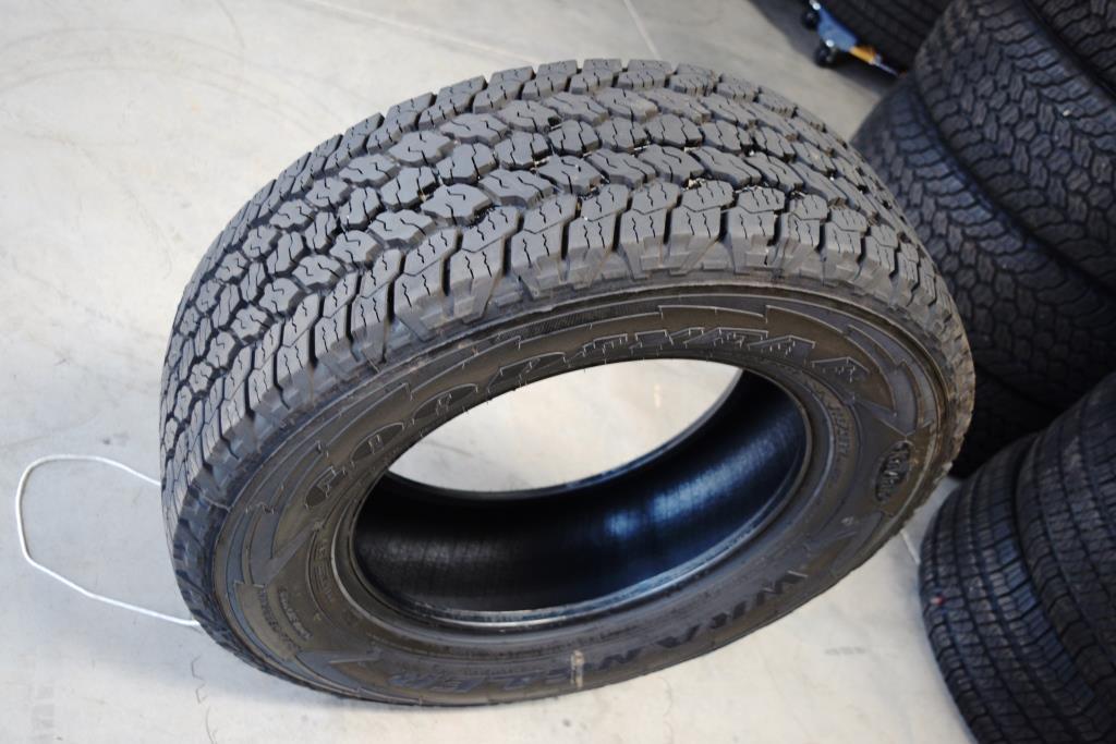 goodyear wrangler adventurer at tires for sale