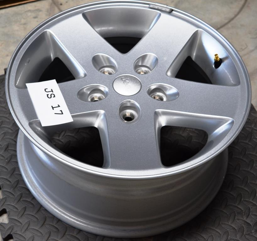 jeep wrangler 17 inch wheels