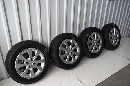 kia rio 15 inch wheels tire package