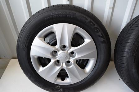 Kia 15 Inch Soul 2014 2015 oem factory wheels