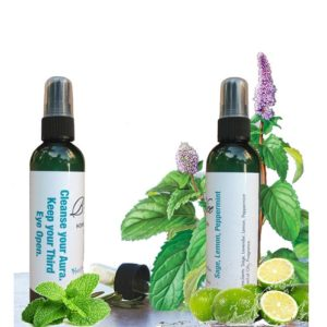 Home and Room Spray Sage Lemon Peppertmint By Hector L Espinosa