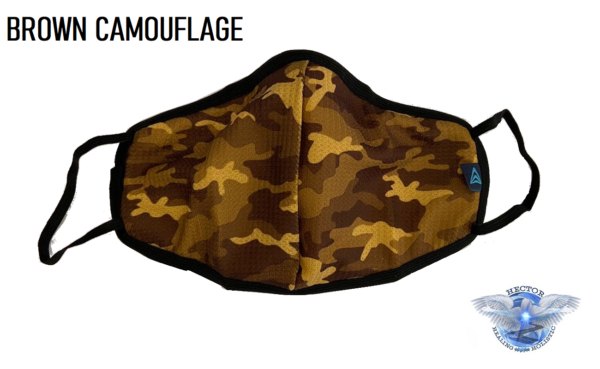 Brown Camouflage Covid 19 Protection Mask