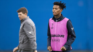 Steven Gerrard Excited as Bongani Zungu Trains for The First Time!