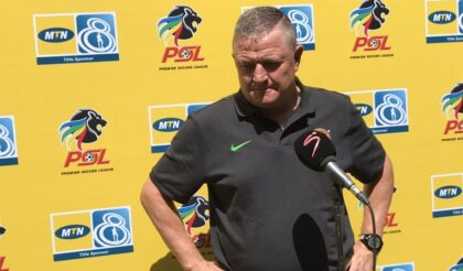 Gavin Hunt Aiming for All Three Points Against Golden Arrows!